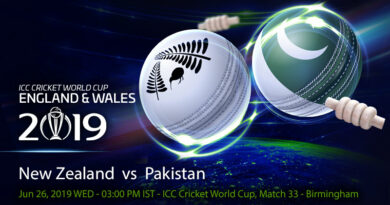 Cricket Prediction World Cup – New Zealand vs Pakistan – Exuberant Pakistan take on unbeaten Black Caps