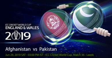 Cricket Prediction World Cup – Afghanistan vs Pakistan – Pakistan look to stay alive as they take on Afghanistan