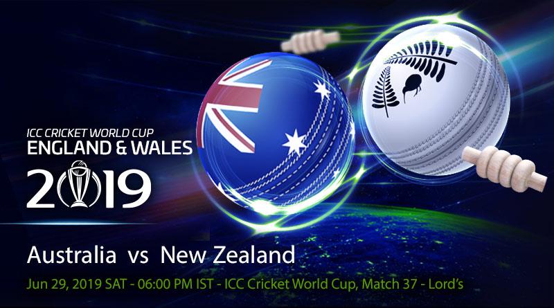Cricket Prediction World Cup – Australia vs New Zealand – World Cup finalists Australia and New Zealand clash in a big game