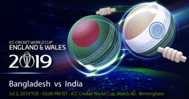 Cricket Prediction World Cup – Bangladesh vs India – Bangladesh look to keep their World Cup semi-final dream alive against India