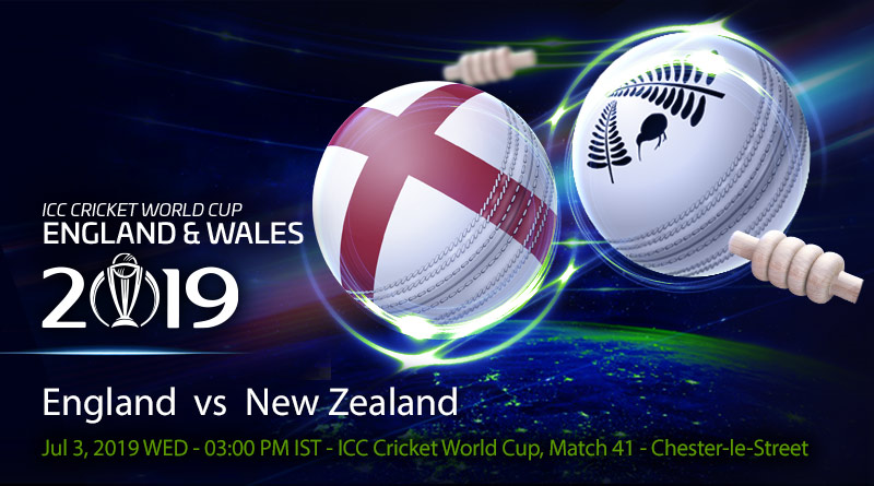 Cricket Prediction World Cup – England vs New Zealand – World Cup semi-final spot on the line as England take on New Zealand