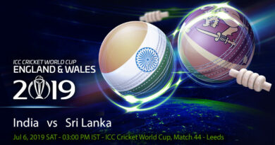 Cricket Prediction World Cup – India vs Sri Lanka – Fresh from semi-final qualification, India take on Sri Lanka in the final group game