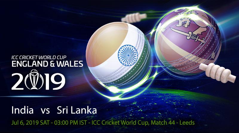 Cricket Prediction World Cup – India vs Sri Lanka – Fresh from semi-final qualification, India take on Sri Lanka in the final group game