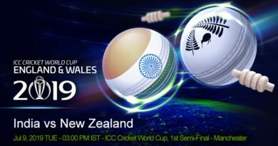 Cricket Prediction World Cup – India vs New Zealand – India take on New Zealand in the first semi-final of the World Cup