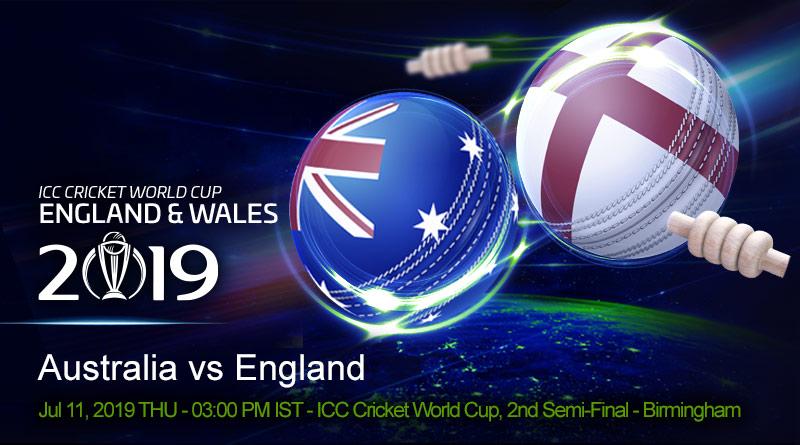 Cricket Prediction World Cup – Australia vs England – Australia aim to continue their formidable semi-final record against hosts England
