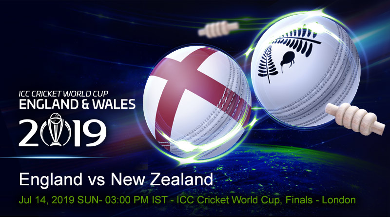 Cricket Prediction World Cup – England vs New Zealand – England set up a dream final against New Zealand at Lord's