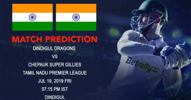 Cricket Prediction Tamil Nadu Premier League – Dindigul Dragons vs Chepauk Super Gillies – Dindigul Dragons take on Super Gillies in the opening game