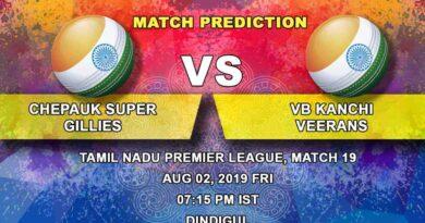 Cricket Prediction Tamil Nadu Premier League – Lyca Kovai Kings vs Siechem Madurai Panthers – Siechem Madurai Panthers look to end their losing streak against Lyca Kovai Kings