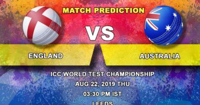 Cricket Prediction ICC World Test Championship – England vs Australia – Teams move to Leeds to play third Ashes Test