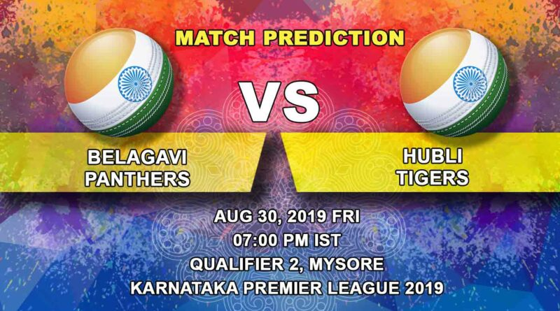 Belagavi Panthers vs Hubli Tigers | Cricket Prediction