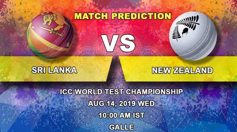 Cricket Prediction ICC World Test Championship – Sri Lanka vs New Zealand – World Cup Final Runners-up New Zealand take on Sri Lanka in First Test