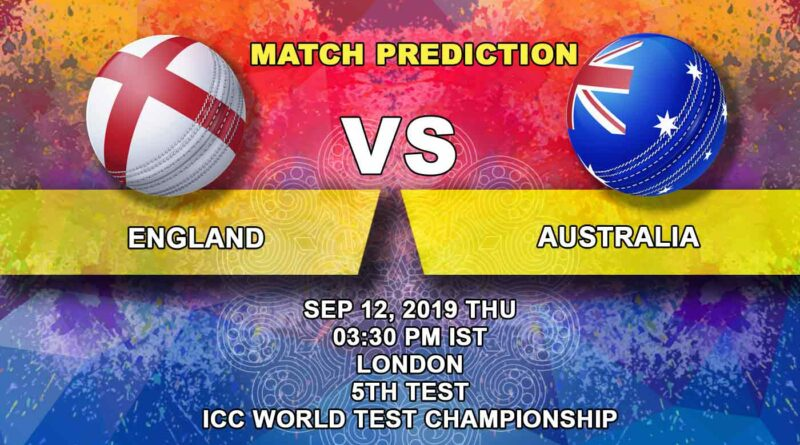 Cricket Prediction ICC World Test Championship – England vs Australia – Over the moon Australia now set their eyes on series win in England