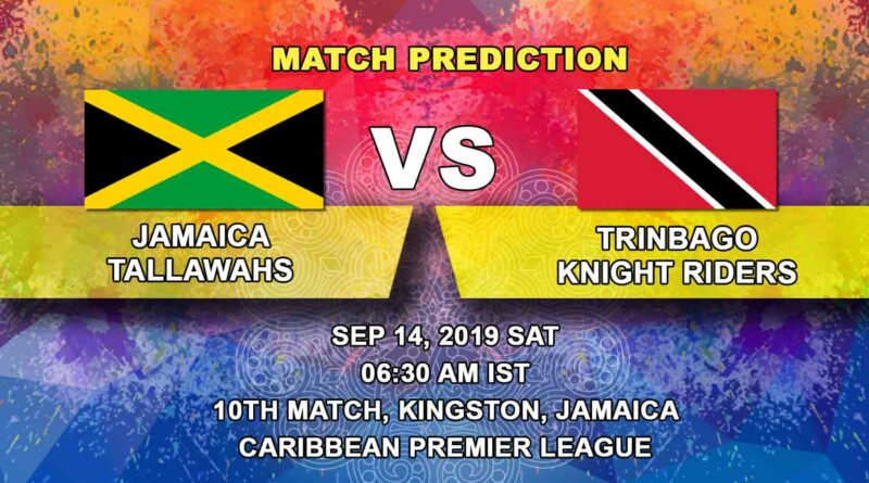 Cricket Prediction Caribbean Premier League – Jamaica Tallawahs vs Trinbago Knight Riders – Tallawahs aim to break losing streak against Knight Riders