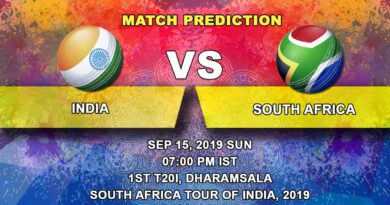 Cricket Prediction South Africa tour of India 2019/20 – India vs South Africa – Focus shifts to T20 World Cup as India take on South Africa