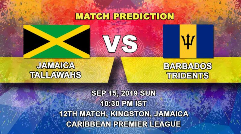 Cricket Prediction Caribbean Premier League – Jamaica Tallawahs vs Barbados Tridents – Time is running out for Jamaica Tallawahs as they take on Barbados Tridents