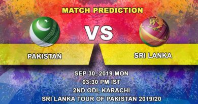 Cricket Prediction Sri Lanka tour of Pakistan 2019/20 – Pakistan vs Sri Lanka – Karachi craves for cricket as Pakistan take on Sri Lanka in 2nd ODI