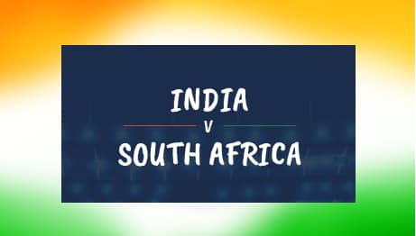 India vs South Africa betting odds