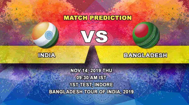 Cricket Prediction India vs Bangladesh ICC World Test Championship 14.11