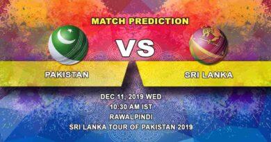 Cricket Prediction Pakistan vs Sri Lanka ICC World Test Championship 11.12
