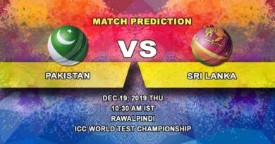 Cricket Prediction Pakistan vs Sri Lanka ICC World Test Championship 19.12