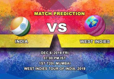 Cricket Prediction India vs West Indies West Indies tour of India, 2019/20 06.12