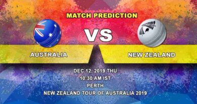 Cricket Prediction Australia vs New Zealand ICC World Test Championship 12.12