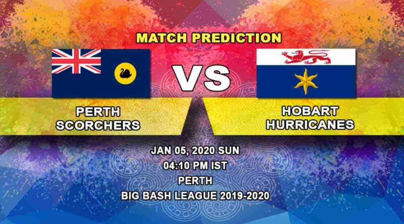 Cricket Prediction Perth Scorchers vs Hobart Hurricanes Big Bash League 05.01