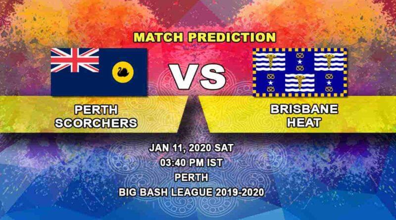 Cricket Prediction Perth Scorchers vs Brisbane Heat Big Bash League 11.01