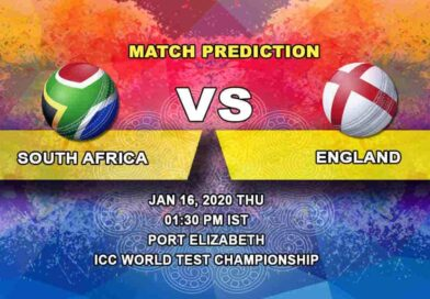 Cricket Prediction - South Africa vs England - ICC World Test Championship 16.01