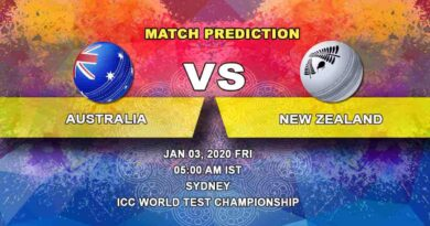 Cricket Prediction Australia vs New Zealand ICC World Test Championship 03.01