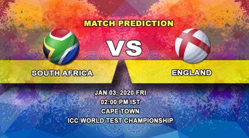 Cricket Prediction South Africa vs England ICC World Test Championship 03.01