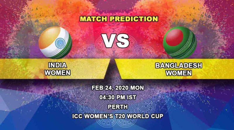 Cricket Prediction - India Women vs Bangladesh Women - ICC Women's T20 World Cup 24.02