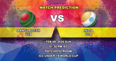 Cricket Prediction - Bangladesh U19 vs India U19 - Final - ICC Under-19 World Cup 09.02