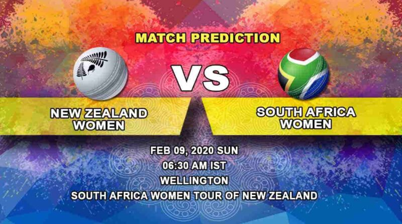 Cricket Prediction - New Zealand Women vs South Africa Women - South Africa Women tour of New Zealand 2019/20 09.02