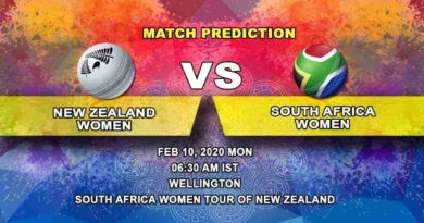 Cricket Prediction - New Zealand Women vs South Africa Women - South Africa Women tour of New Zealand 2019/20 10.02