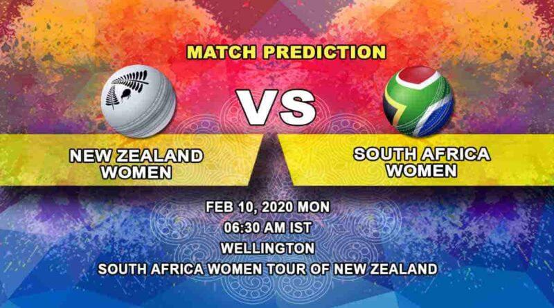 Cricket Prediction - New Zealand Women vs South Africa Women - South Africa Women tour of New Zealand 2019/20 10.02