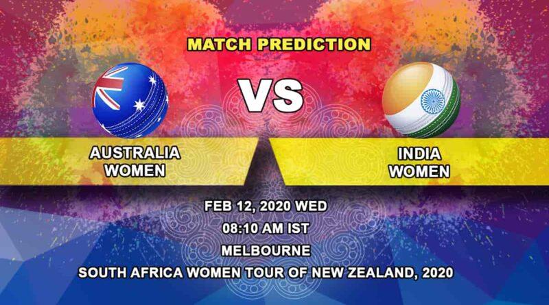 Cricket Prediction - Australia Women vs India Women - Final - Australia Tri-Nation Women's T20 Series 2019/20 12.02