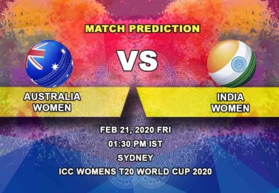 Cricket Prediction - Australia Women vs India Women - ICC Women's T20 World Cup 21.02