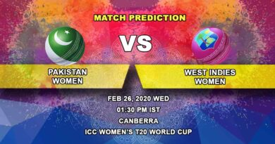 Cricket Prediction - Pakistan Women vs West Indies Women - ICC Women's T20 World Cup 26.02