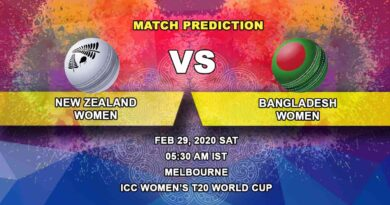 Cricket Prediction - New Zealand Women vs Bangladesh Women - ICC Women's T20 World Cup 29.02