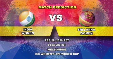 Cricket Prediction - India Women vs Sri Lanka Women - ICC Women's T20 World Cup 29.02