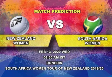 Cricket Prediction - New Zealand Women vs South Africa Women - South Africa Women tour of New Zealand 2019/20 13.02