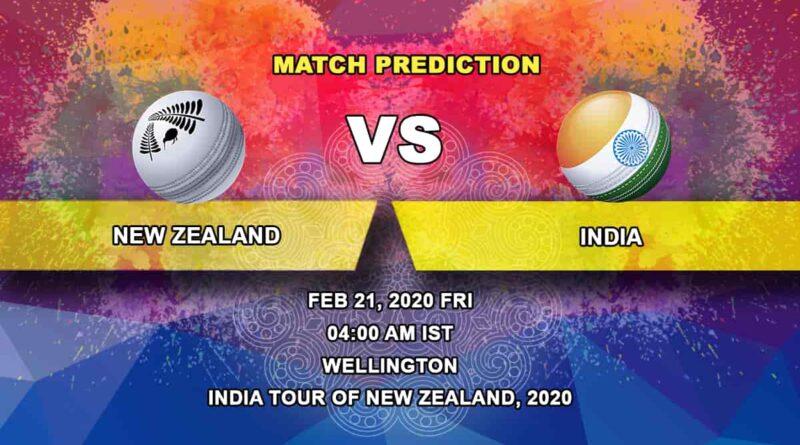 Cricket Prediction - New Zealand vs India - ICC World Test Championship 21.02