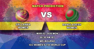 Cricket Prediction - Sri Lanka Women vs Bangladesh Women - ICC Women's T20 World Cup 02.03